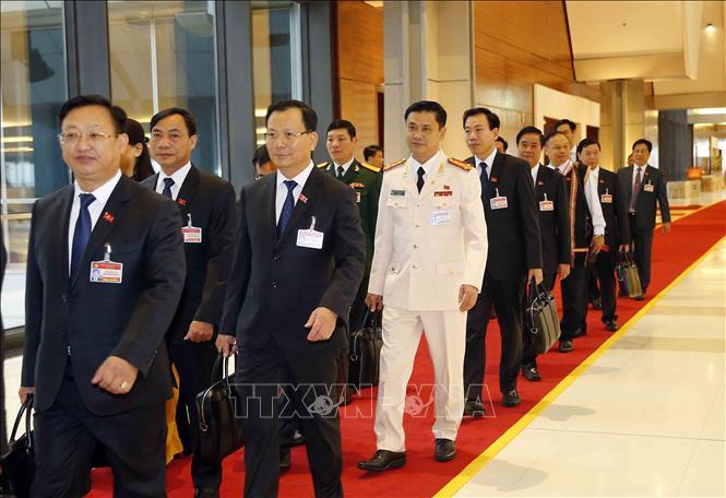 Khai mạc trọng thể Đại hội đại biểu toàn quốc lần thứ XIII Đảng Cộng sản Việt Nam - Ảnh 10