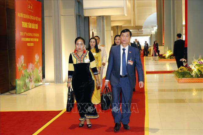Khai mạc trọng thể Đại hội đại biểu toàn quốc lần thứ XIII Đảng Cộng sản Việt Nam - Ảnh 11