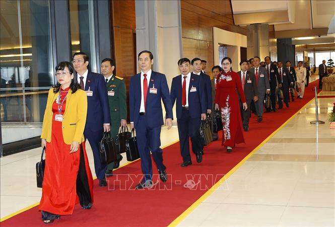 Khai mạc trọng thể Đại hội đại biểu toàn quốc lần thứ XIII Đảng Cộng sản Việt Nam - Ảnh 9