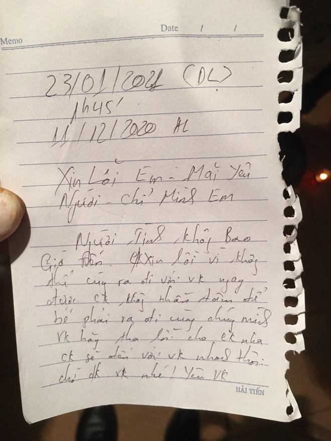 Vụ giết người tình rồi ôm con 3 tháng tuổi về quê: Lá thư tuyệt mệnh hé lộ tấn bi kịch - Ảnh 2
