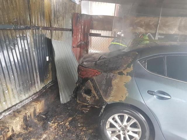 Vụ cháy lớn tại bãi gửi xe ô tô ở Hà Nội: Nhân chứng tiết lộ gì? - Ảnh 3