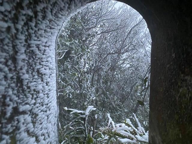 Nhiệt độ xuống -2 độ C, Cao Bằng, Lạng Sơn băng giá phủ kín nhiều nơi - Ảnh 4