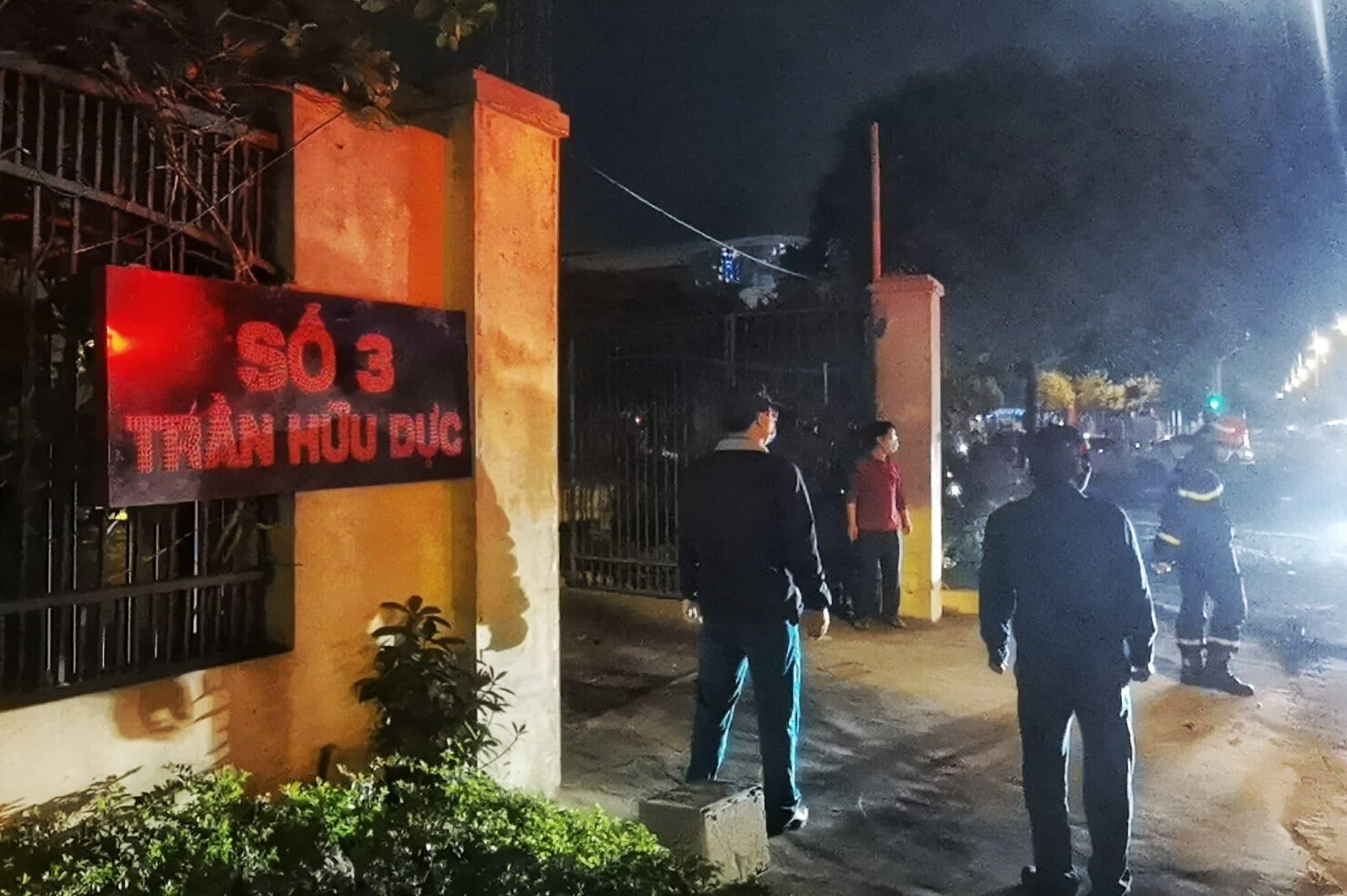 Trung tâm đào tạo vận động viên cao cấp bốc cháy dữ dội tối 30 Tết  - Ảnh 2