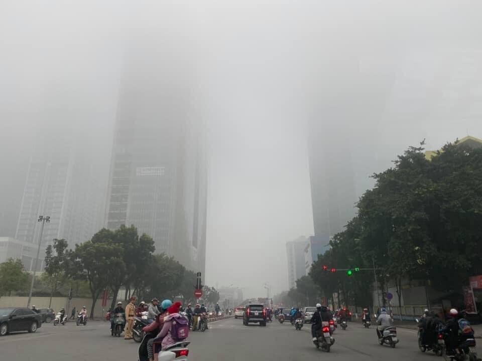 Dự báo thời tiết mới nhất hôm nay 3/2: Hà Nội lại xuất hiện sương mù - Ảnh 1