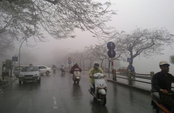 Tin tức dự báo thời tiết mới nhất hôm nay 24/2/2021: Hà Nội sáng sớm có sương mù - Ảnh 1