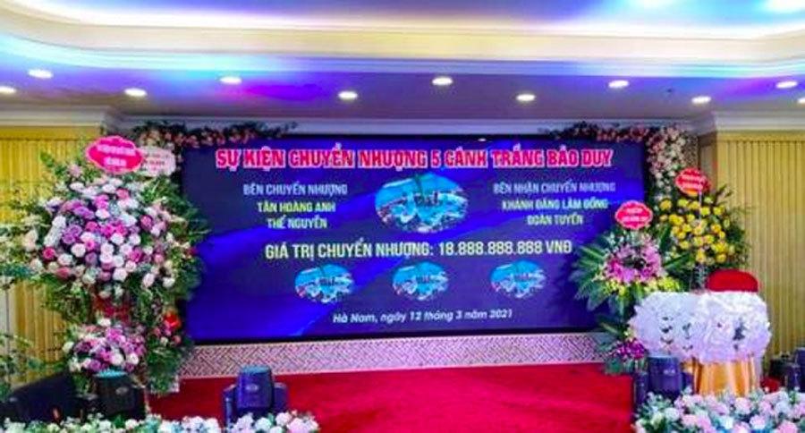 Cục Thuế Hà Nam tiết lộ sốc về vụ chuyển nhượng lan Bảo Duy gần 19 tỷ đồng - Ảnh 1