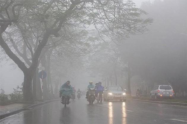 Tin tức dự báo thời tiết mới nhất hôm nay 19/3: Hà Nội sáng sớm có mưa phùn - Ảnh 1
