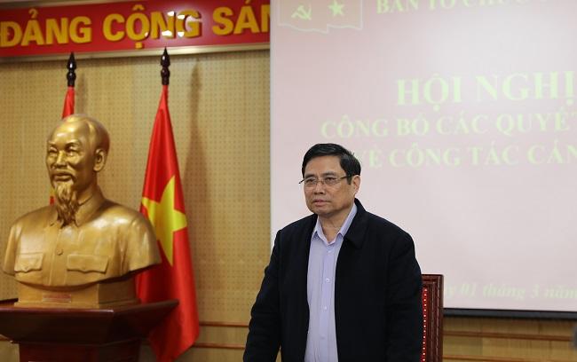 Ban Tổ chức Trung ương công bố quyết định về công tác cán bộ - Ảnh 1