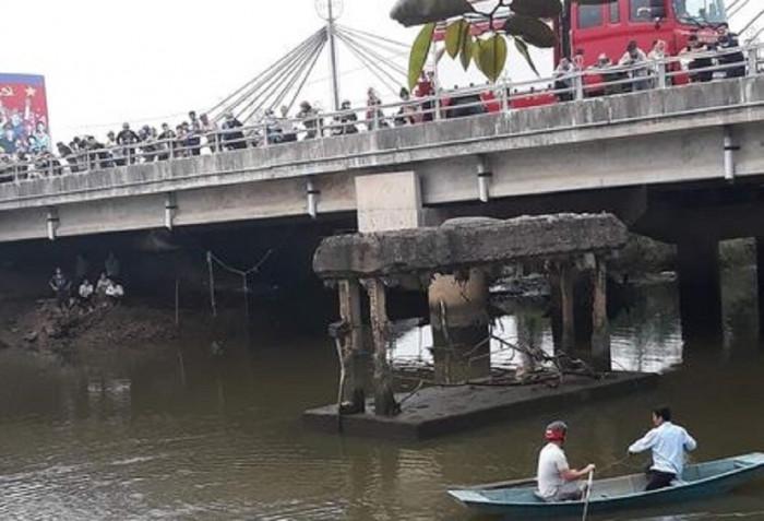 Vụ thanh niên mất tích sau khi nhảy xuống sông cứu bạn gái: Tìm thấy thi thể nạn nhân - Ảnh 1