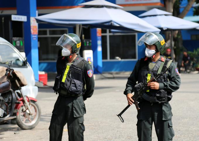Vì sao cảnh sát vũ trang phong tỏa cây xăng ở Gò Vấp, TP.HCM? - Ảnh 1