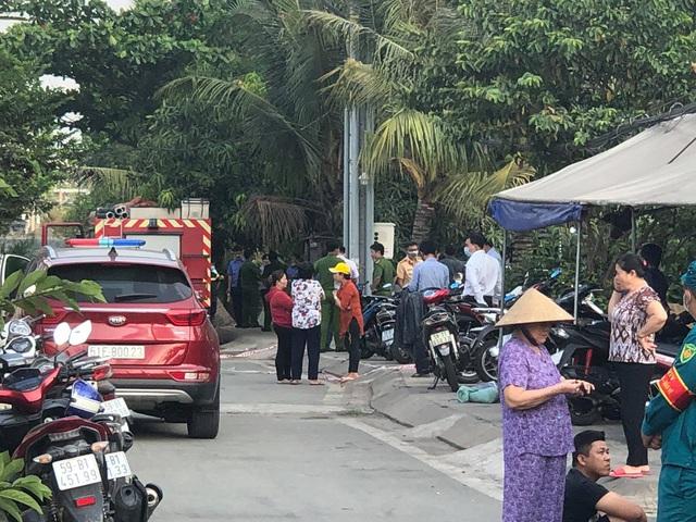 Hiện trường vụ cháy nhà khiến 6 người tử vong thương tâm ở TP.HCM - Ảnh 3