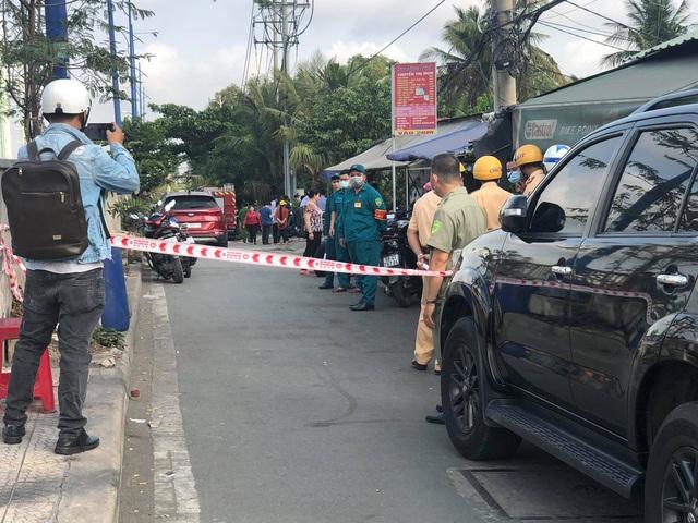 Hiện trường vụ cháy nhà khiến 6 người tử vong thương tâm ở TP.HCM - Ảnh 4