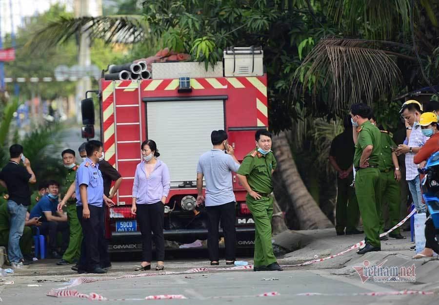Hiện trường vụ cháy nhà khiến 6 người tử vong thương tâm ở TP.HCM - Ảnh 5