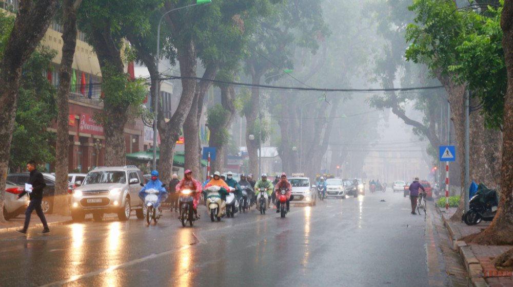 Tin tức dự báo thời tiết hôm nay 8/3: Hà Nội mưa nhỏ, nhiệt độ thấp nhất17 độ C - Ảnh 1