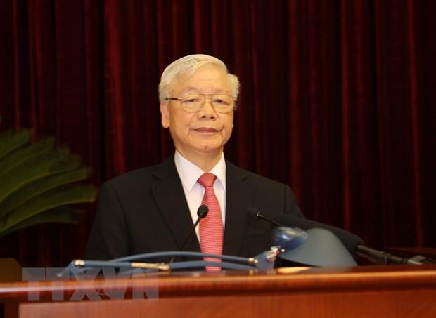 Khai mạc trọng thể Hội nghị lần thứ 2 BCH Trung ương Đảng khóa XIII - Ảnh 1