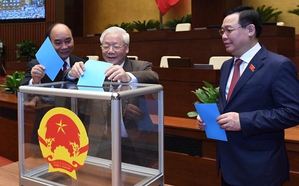 Quốc hội miễn nhiệm Chủ tịch nước Nguyễn Phú Trọng - Ảnh 1