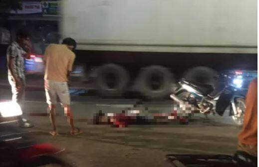 Án mạng lúc nửa đêm ở Đồng Nai, thanh niên khoảng 20 tuổi bị chém gục trên đường - Ảnh 1