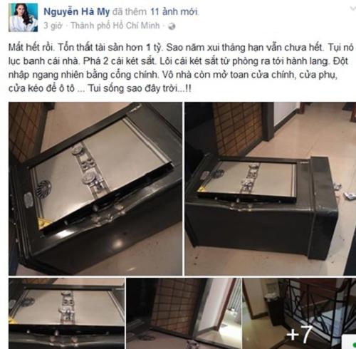 Hot girl Sài Gòn trình báo mất trộm hơn 1 tỷ đồng - Ảnh 1
