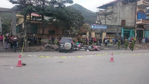 Tai nạn liên hoàn ở  Quảng Ninh, 3 người phụ nữ tử vong - Ảnh 1