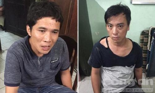 Đặc nhiệm Sài Gòn đạp ngã xe khống chế tên trộm xe máy - Ảnh 1