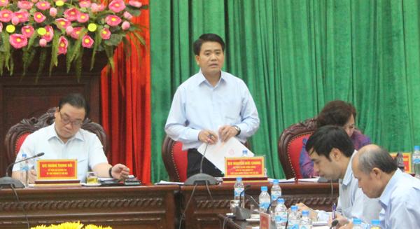 """Chủ tịch Nguyễn Đức Chung: Chắc chắn sẽ giảm 5 """"siêu ban"""", gần 1.000 cán bộ - Ảnh 1"""