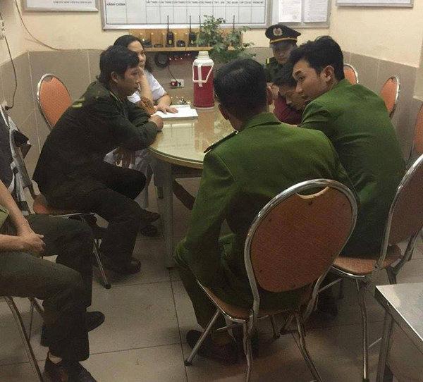 Bảo vệ BV Phụ sản Hà Nội bị tố hành hung người nhà bệnh nhân - Ảnh 1