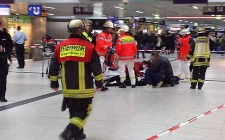 Tấn công bằng rìu tại nhà ga ở Đức, 6 người bị thương - Ảnh 1