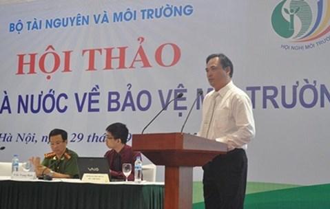 Cách chức Cục trưởng kiểm soát hoạt động bảo vệ môi trường sau sự cố Formosa - Ảnh 1