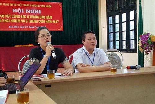 """Chủ tịch Chung: Phường Văn Miếu đưa cán bộ hợp đồng ra làm ở """"một cửa"""" là sai - Ảnh 2"""