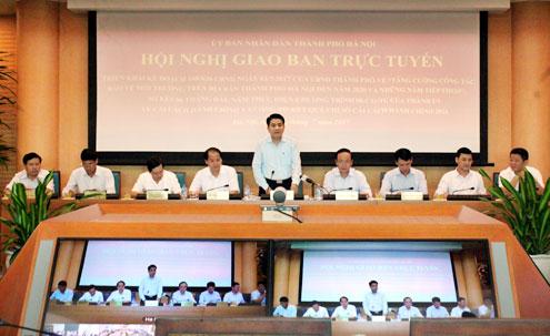 """Chủ tịch Chung: Phường Văn Miếu đưa cán bộ hợp đồng ra làm ở """"một cửa"""" là sai - Ảnh 1"""
