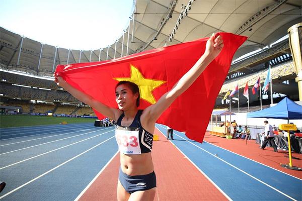 Việt Nam lập hat-trick HCV chỉ trong ít phút ở SEA Games 29 - Ảnh 1