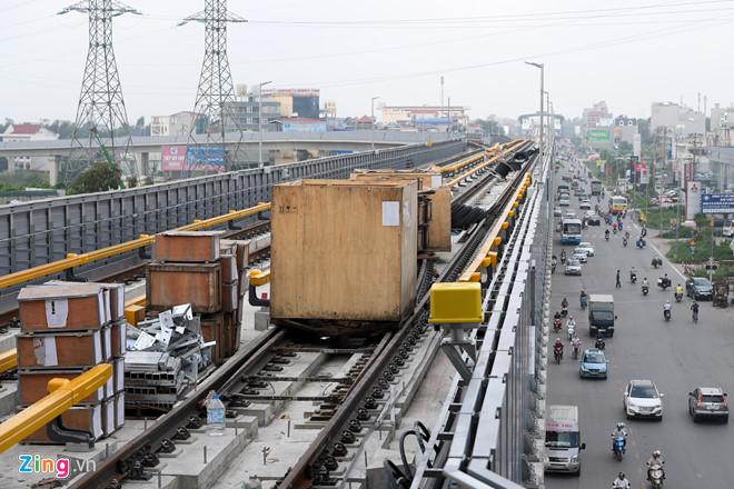Đường sắt Cát Linh - Hà Đông không kịp chạy thử vào tháng 10 - Ảnh 1