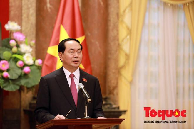 Nguồn động viên quý giá của Chủ tịch nước Trần Đại Quang cho đội tuyển U23 - Ảnh 1