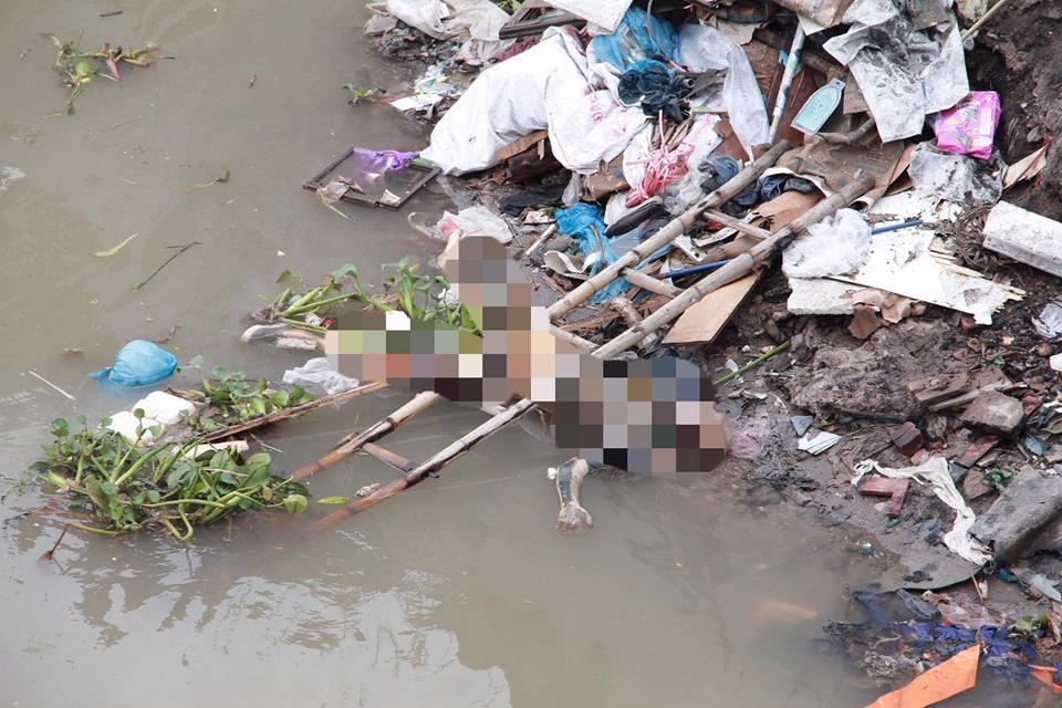 Hốt hoảng phát hiện thi thể đang phân hủy trên sông ở Hải Phòng - Ảnh 1