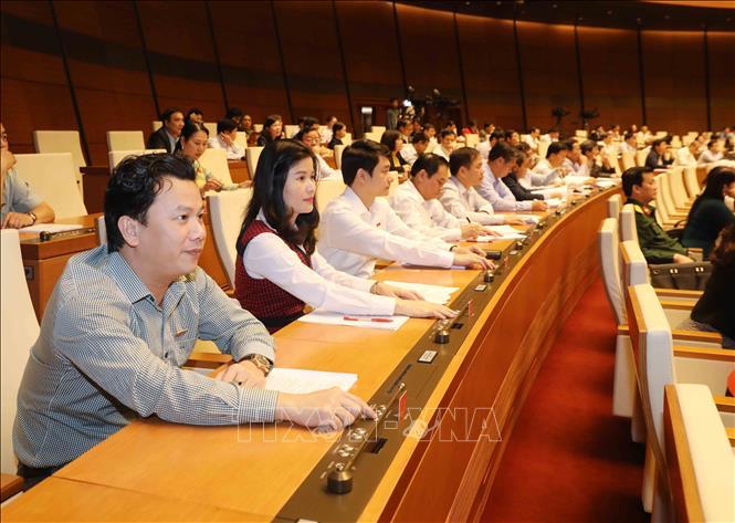 Quốc hội thảo luận tại tổ về bốn dự án luật quan trọng - Ảnh 1
