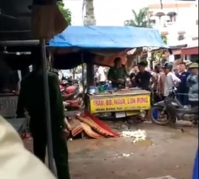 Vụ cô gái bán đậu bị bắn chết giữa chợ: Hé lộ nội dung tin nhắn nghi phạm gửi cho vợ - Ảnh 2
