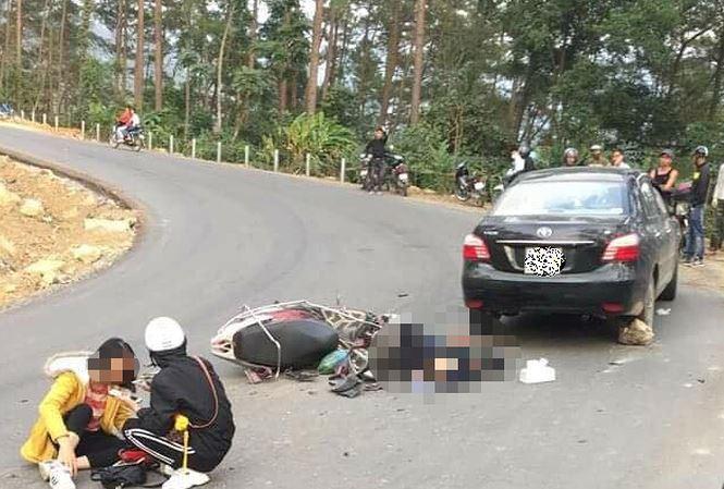 Tin tai nạn giao thông mới nhất ngày 25/12/2018: Đôi nam nữ đi xe tay ga gặp nạn khi đổ đèo Tam Đảo - Ảnh 1