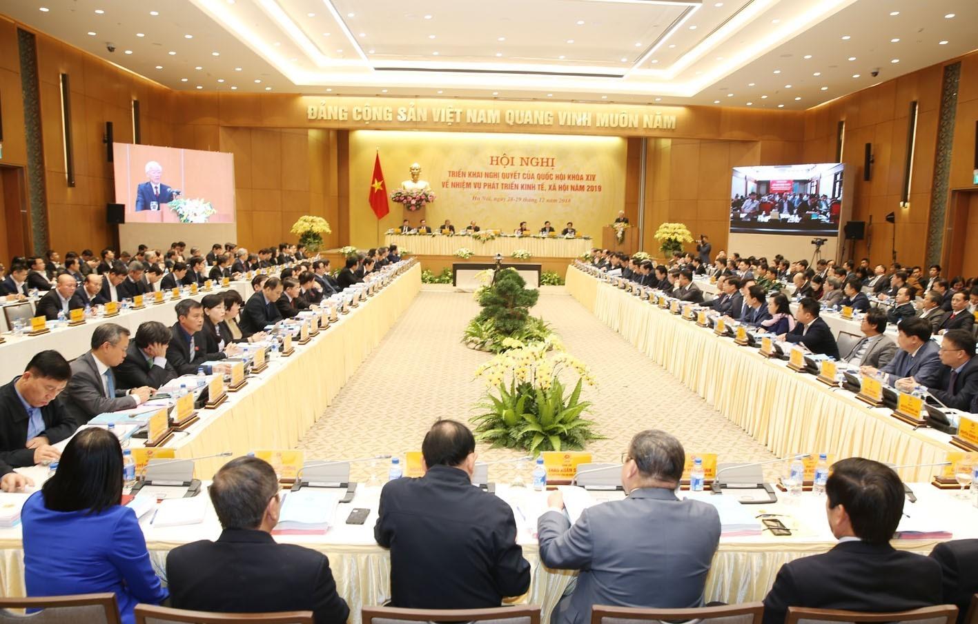 Bộ trưởng Trần Hồng Hà: Thành tựu 2018 'ngoạn mục như hiện tượng bóng đá' - Ảnh 1