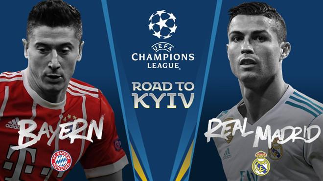 Bốc thăm bán kết Champions League: Real Madrid đại chiến Bayern Munich - Ảnh 1