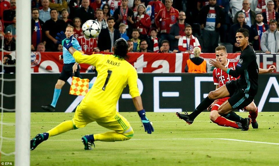 Hạ gục Bayern, Real Madrid rộng cửa vào chung kết - Ảnh 1