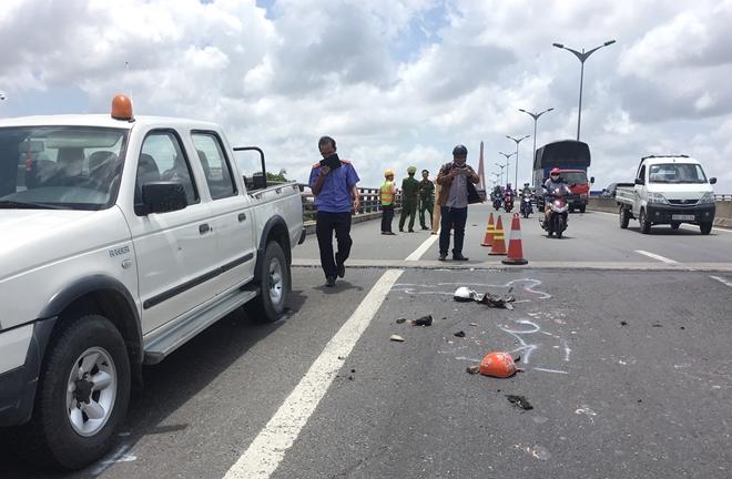 Tin tai nạn giao thông mới nhất ngày 10/7/2018: Hai mẹ con đang về quê bị xe tải tông tử vong - Ảnh 1