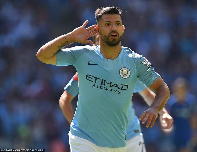 Aguero lập cú đúp, Man City đánh bại Chelsea giành siêu cúp Anh - Ảnh 2