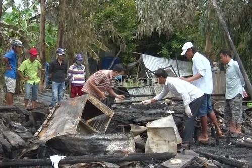 Lời khai lạnh gáy của kẻ phóng hỏa đốt nhà khiến 2 mẹ con chết cháy - Ảnh 1
