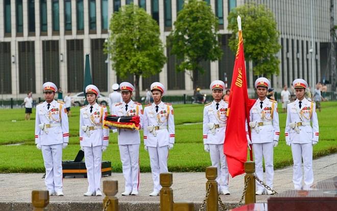 Lễ viếng Chủ tịch nước Trần Đại Quang - Ảnh 71