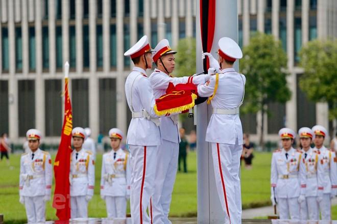 Lễ viếng Chủ tịch nước Trần Đại Quang - Ảnh 73
