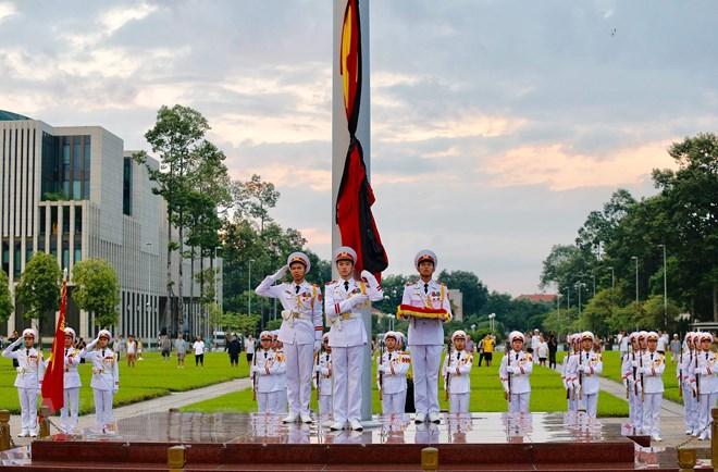 Lễ viếng Chủ tịch nước Trần Đại Quang - Ảnh 74
