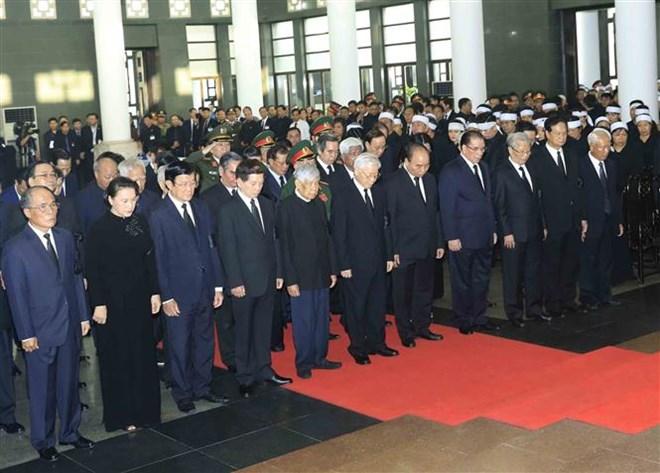 Lễ viếng Chủ tịch nước Trần Đại Quang - Ảnh 69
