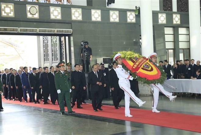 Lễ viếng Chủ tịch nước Trần Đại Quang - Ảnh 68