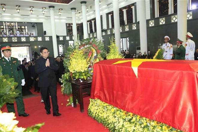 Lễ viếng Chủ tịch nước Trần Đại Quang - Ảnh 51