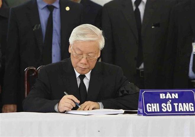 Lễ viếng Chủ tịch nước Trần Đại Quang - Ảnh 56
